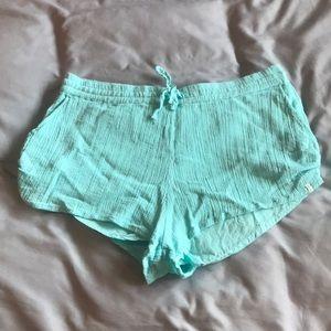 Large blue Volcom shorts
